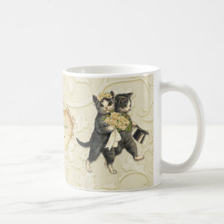 Wedding Cats Coffee Mug