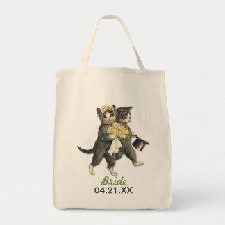 Wedding Cats Tote Bag