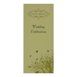 Wedding Celebration Custom Announcement