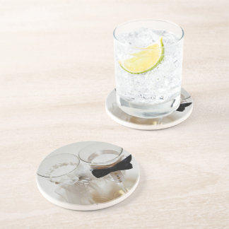 Wedding Celebration Glasses Beverage Coaster