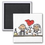 Wedding Celebration Magnets