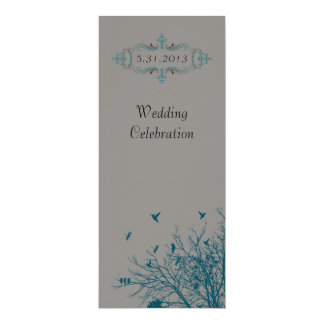 Wedding Celebration Personalized Announcement