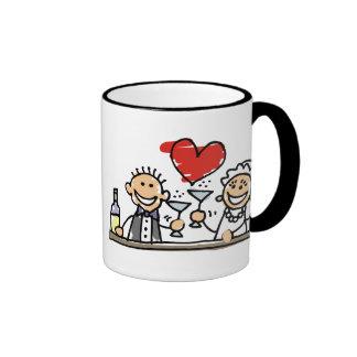Wedding Celebration Ringer Mug
