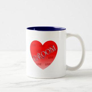 WEDDING CELEBRATION Two-Tone COFFEE MUG