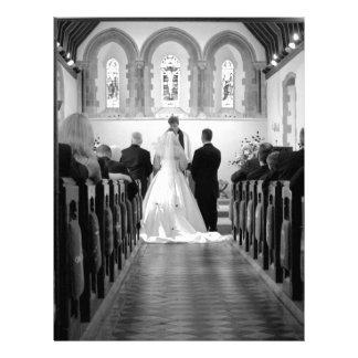 Wedding Ceremony Letterhead