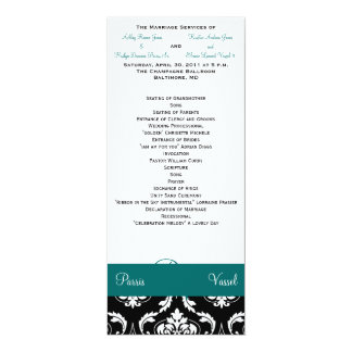 Wedding Ceremony Part one 4x9.25 Paper Invitation Card