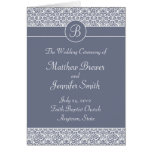 Wedding Ceremony Program and Order of Service Card Card