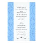 Wedding Ceremony Programs Personalized Invitation