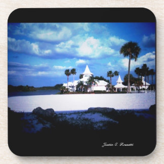 Wedding Chapel Beverage Coaster