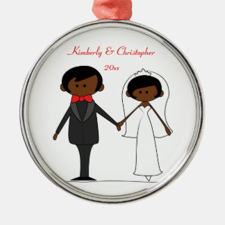 Wedding Characters Personalized Ornament (A2)