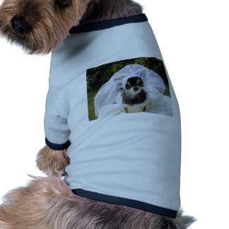 Wedding Chihuahua Bride Dog T-shirt