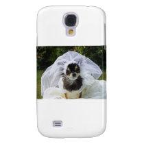 Wedding Chihuahua Bride Galaxy S4 Case