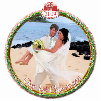 Wedding Christmas Ornament Our 1st Christmas