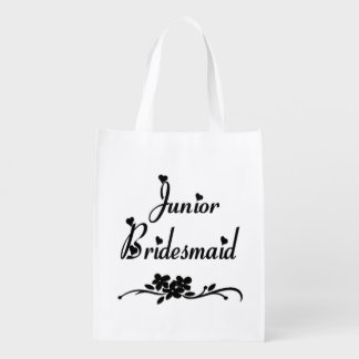 Wedding Classic Junior Bridesmaid Grocery Bags