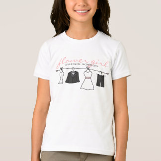 Wedding Clothes (Bride & Groom) Flower Girl T-Shirt