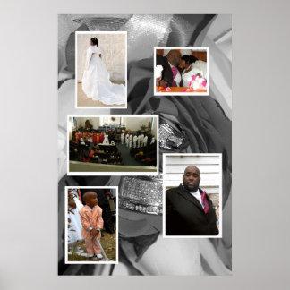 Wedding Collage Poster