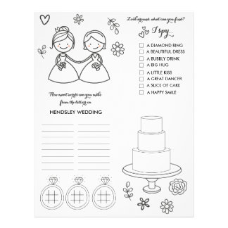 Wedding Coloring and Activity Page