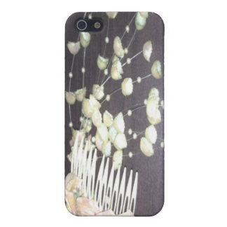 Wedding Comb Cover For iPhone 5