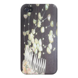 Wedding Comb iPhone 4/4S Cases