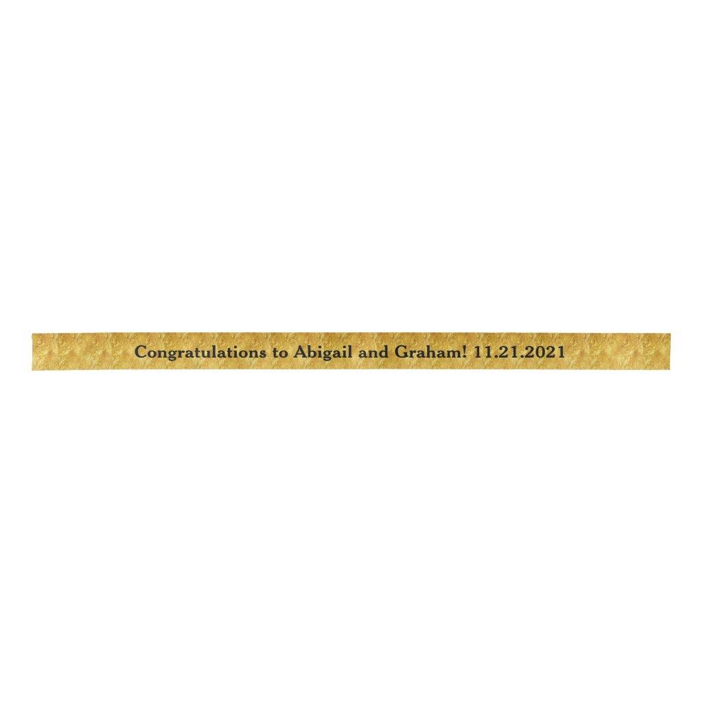Wedding Congrats Ribbon Spool