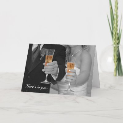Wedding Card Congratulations on Congratulations On Your Wedding  Greeting Card From Zazzle Com