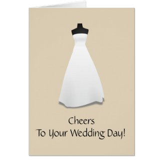 Wedding Congratulatory Card