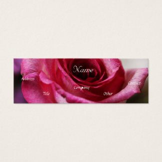 Wedding Consultant Business Card