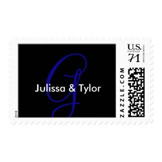 Wedding Contemporary Envelopes Oversize Postage Stamp