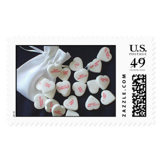wedding-conversation-hearts postage