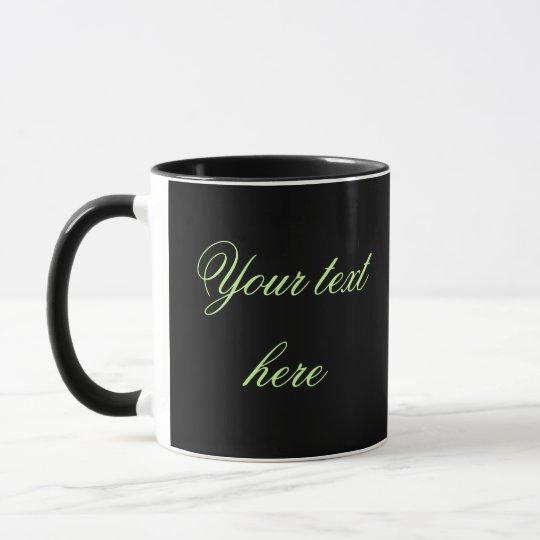 Wedding Coordinates Personalize Photo Mug