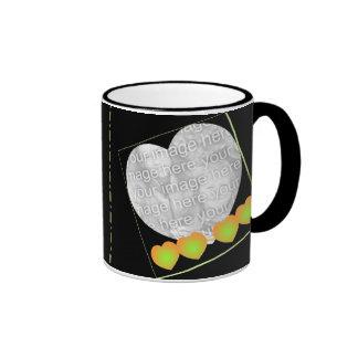 Wedding Coordinates Personalize Photo Coffee Mugs