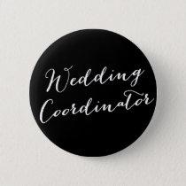 Wedding Coordinator Classic Bridal Party Button