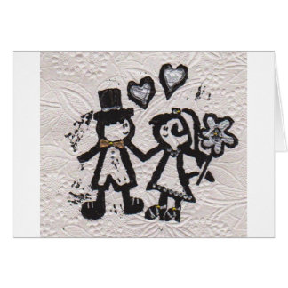 Wedding Couple 1 Card