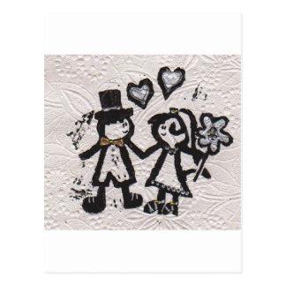 Wedding Couple 1 Postcard