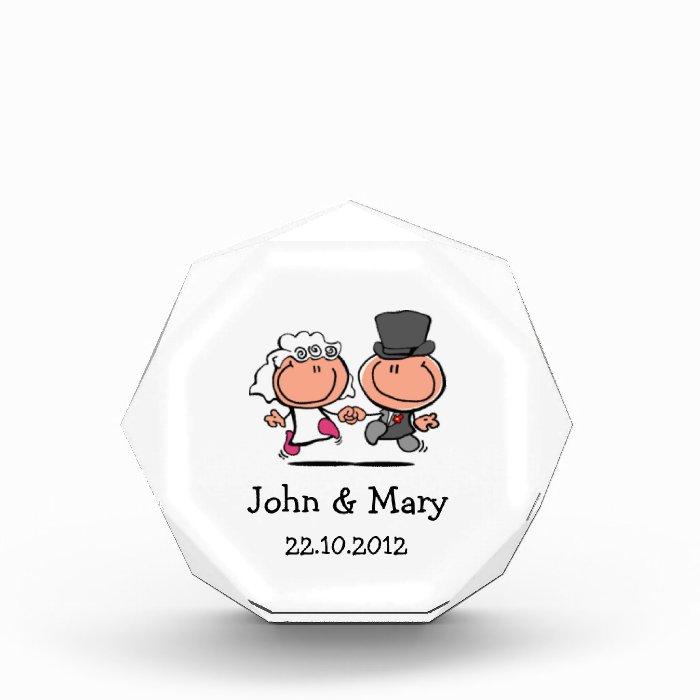 Wedding Couple cartoon award