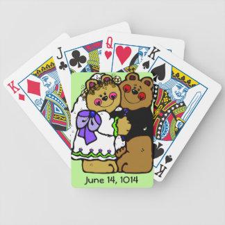 Wedding Couple Customized Playing Cards