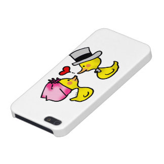 wedding couple ducks case for iPhone SE/5/5s