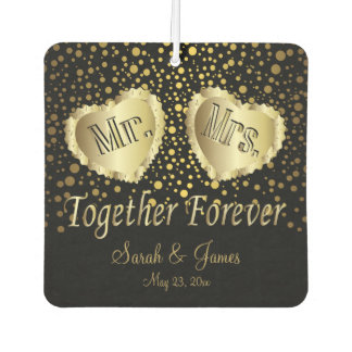 Wedding Couple | Gold Dots | DIY Names & Date