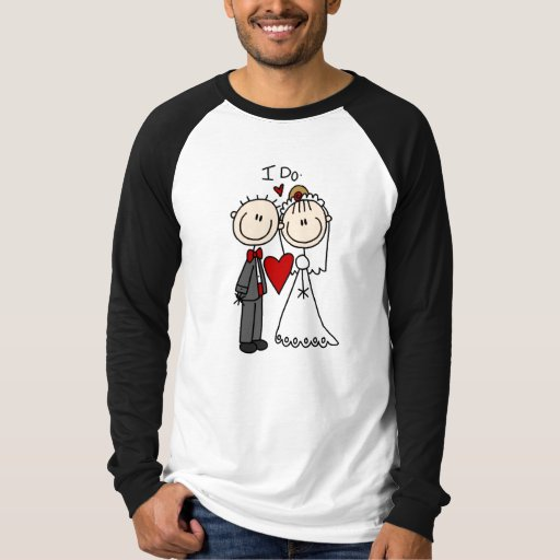 Wedding Couple I Do T-shirts and Gifts