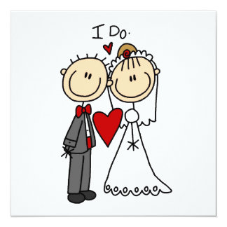 Wedding Couple I Do T Shirts And Gifts Card