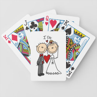 Wedding Couple I Do T-shirts and Gifts Bicycle Playing Cards