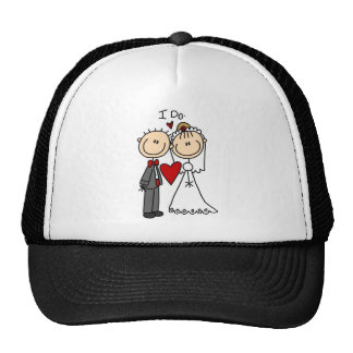 Wedding Couple I Do T-shirts and Gifts Trucker Hat