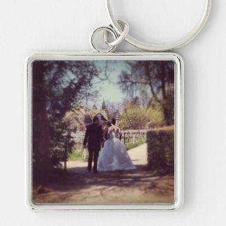 Wedding Couple in Versailles Keychain