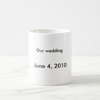 Wedding couple magic mug