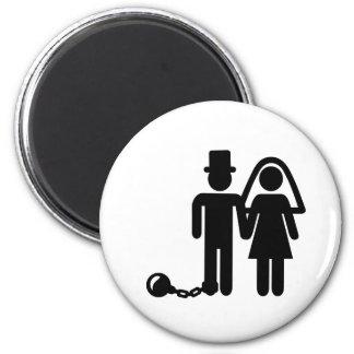 Wedding couple magnets