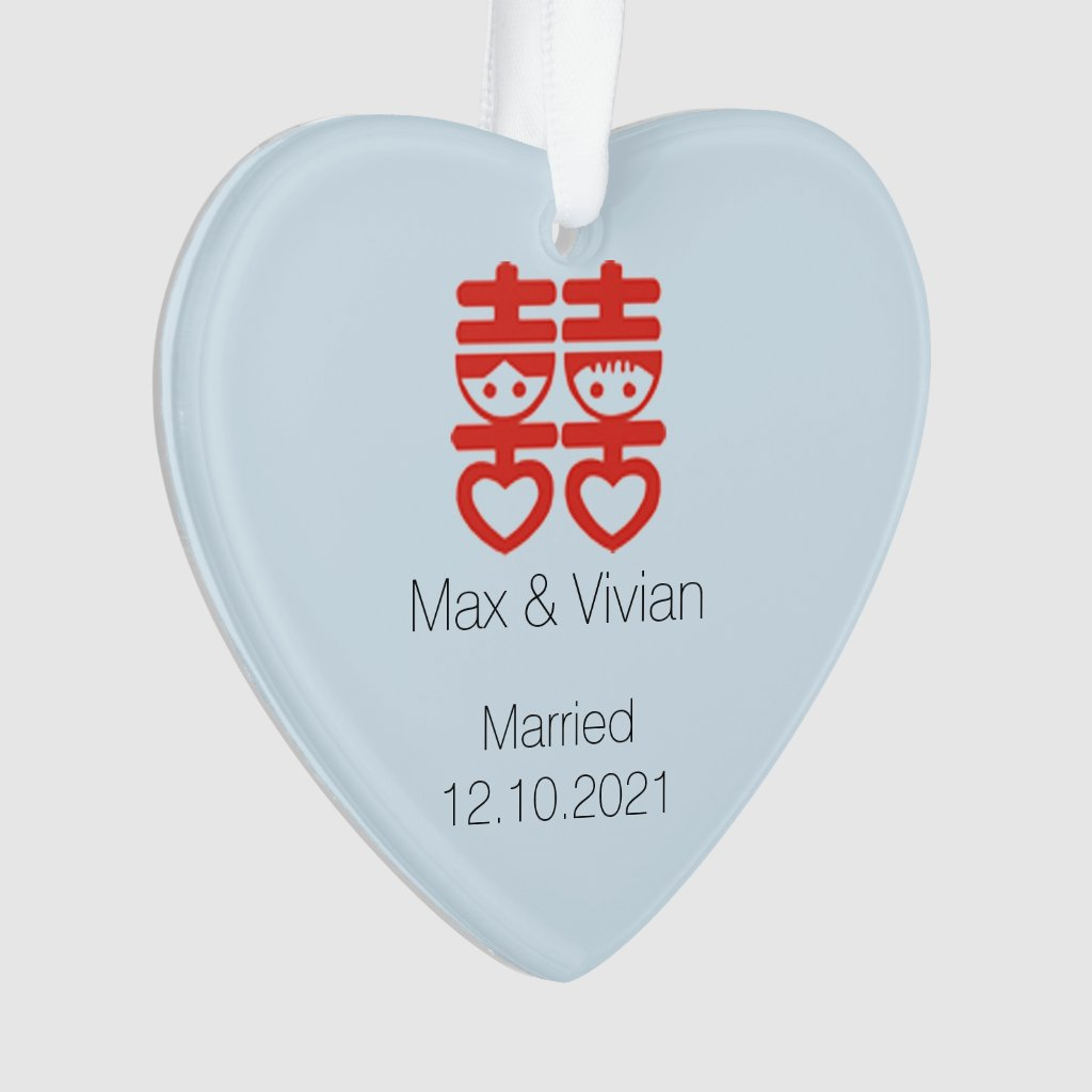 Wedding Couple Ornament