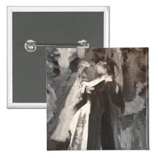 Wedding Couple Painting pin