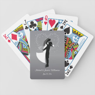 Wedding Couple Personalized Bicycle® Playing Cards
