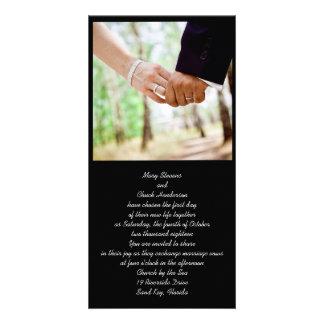 Wedding Couple Photo Invitations