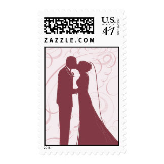 Wedding Couple_Pink by Ceci New York Postage